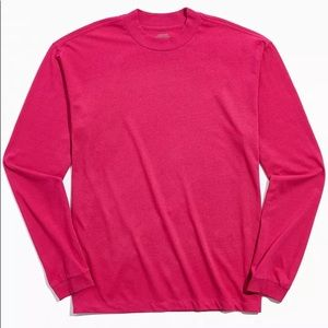 UO Recycled Cotton Longsleeve Shirt